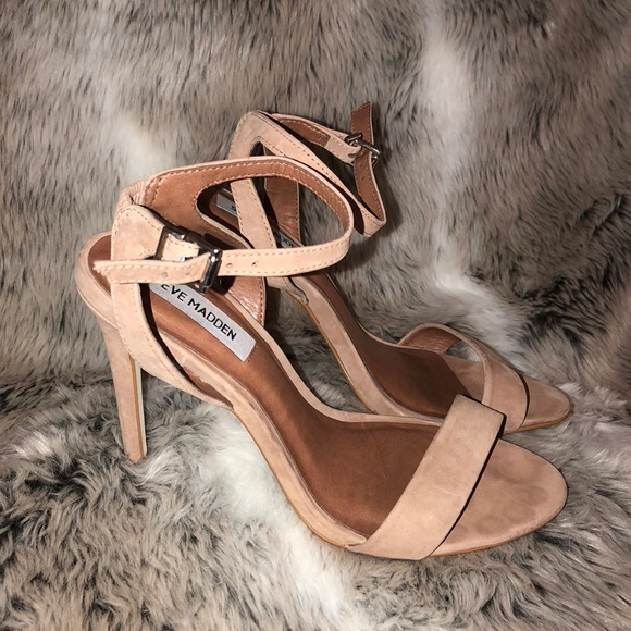 brand new ec944 35943 Steve Madden Laden Leather Heels